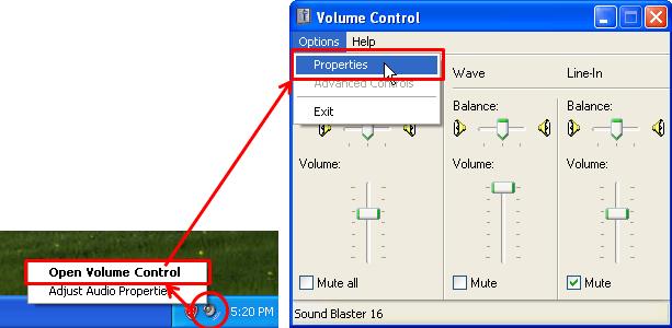 no sound my computer windows xp