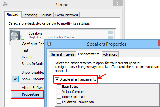 How to remove microphone howling/robot/echo sound/fireworks