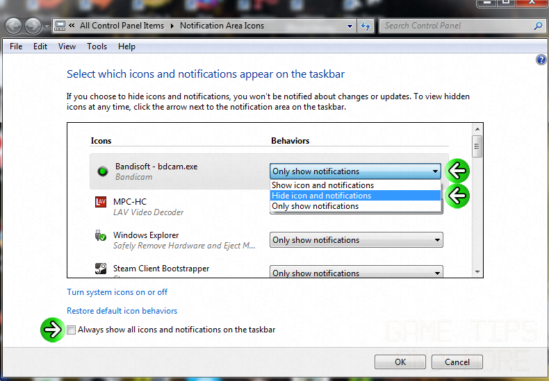 How To Hide The Bandicam Notification PopUp In Windows -gtam.png
