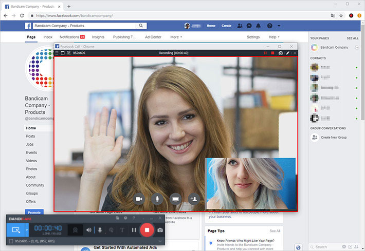 How to record a video call or video chat