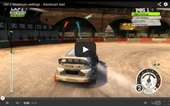 dirt3 recording, sample video