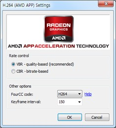 amd h264, x264 video capture