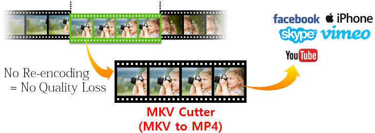 MKV video cutter, Video Cutter, Cut MKV without losing quality
